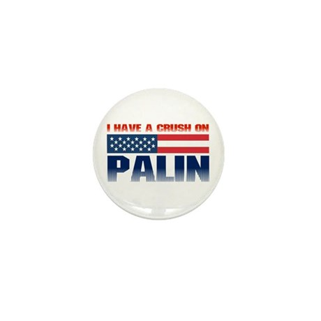 Crush on Palin Mini Button (10 pack)