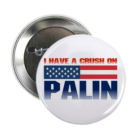 """Crush on Palin 2.25"""" Button (10 pack)"""