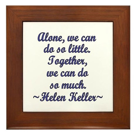 Together Framed Tile