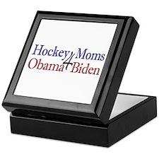 Hockey Moms 4 Obama Biden Keepsake Box