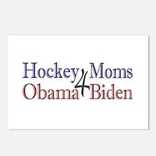 Hockey Moms 4 Obama Biden Postcards (Package of 8)