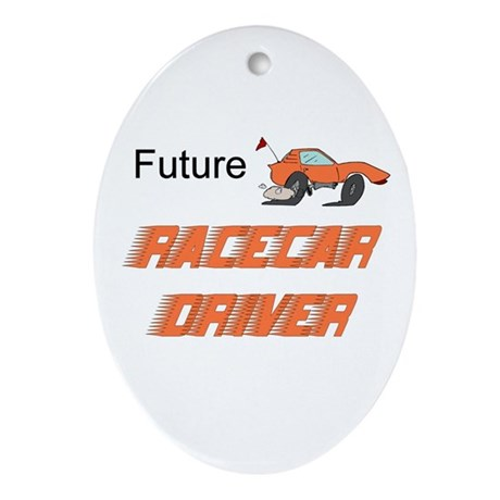 Future Race Car Driver Ceramic Ornament