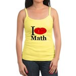 I Love Math Jr. Spaghetti Tank
