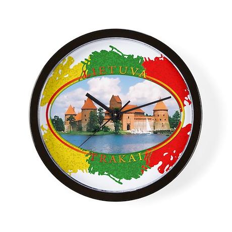 Lietuva - Trakai Wall Clock