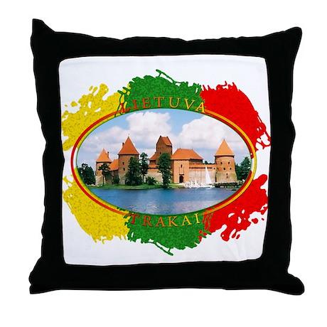 Lietuva - Trakai Throw Pillow