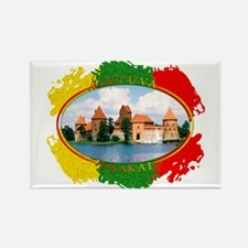 Lietuva - Trakai Rectangle Magnet