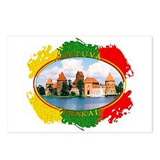 Lietuva - Trakai Postcards (Package of 8)