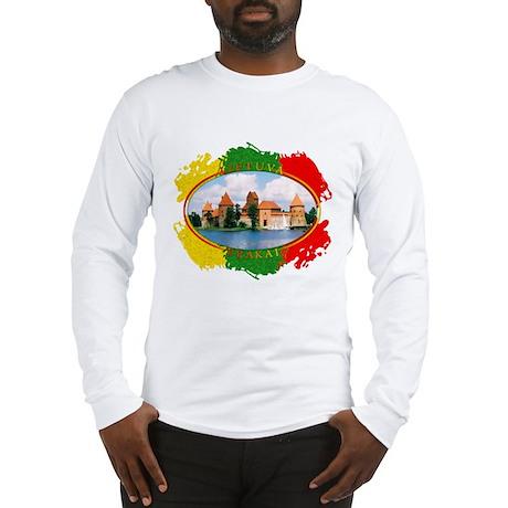 Lietuva - Trakai Long Sleeve T-Shirt