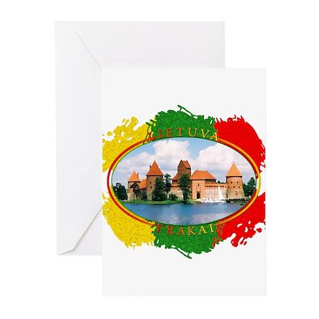 Lietuva - Trakai Greeting Cards (Pk of 20)