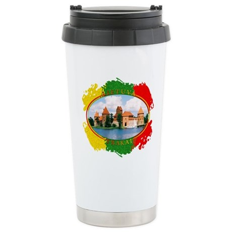 Lietuva - Trakai Stainless Steel Travel Mug