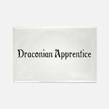 Draconian Apprentice Rectangle Magnet