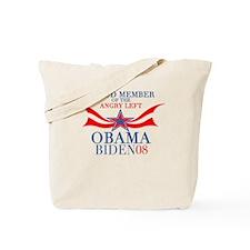 Angry Left Tote Bag