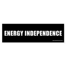 Energy Independence Bumper Bumper Sticker