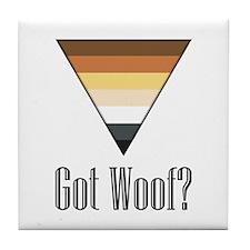 Got Woof? Tile Coaster