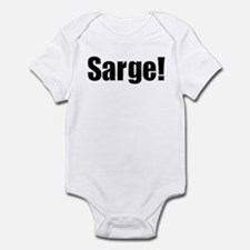 Sarge!! Infant Creeper