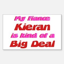 My Fiance Kieran - Big Deal Rectangle Decal