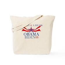 A Plan & A Brain Obama Tote Bag