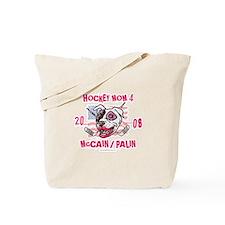 Hockey Moms Palin Pink Tote Bag