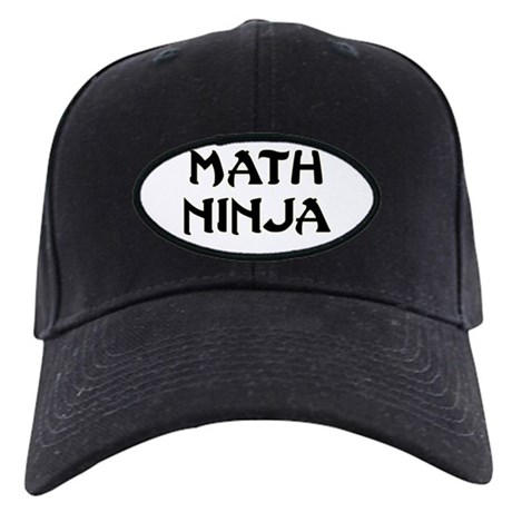 Math Ninja Black Cap