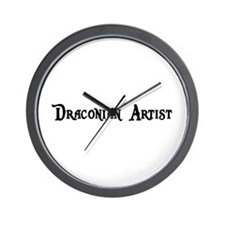 Draconian Artist Wall Clock