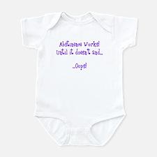 Abstinence...Oops! Infant Bodysuit