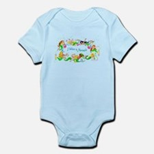 I Believe in Mermaids Infant Bodysuit