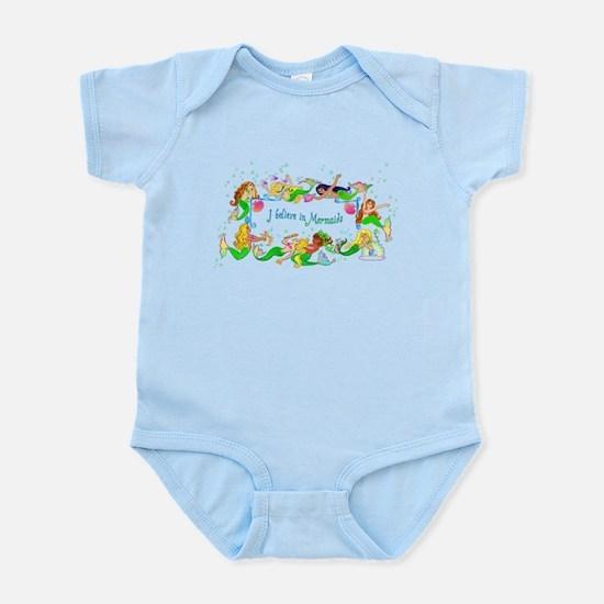 I Believe in Mermaids Infant Bodysuit