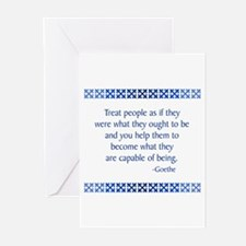 Goethe Greeting Cards (Pk of 10)