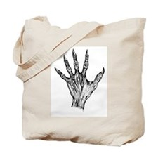 Zombie Hand Tote Bag