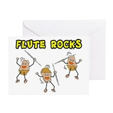 Flute Rocks Greeting Cards (Pk of 10)
