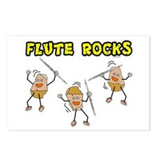 Flute Rocks Postcards (Package of 8)