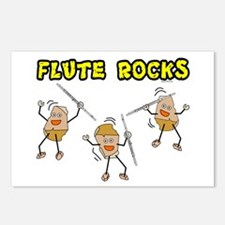 Flute Rocks Postcards (Package of 8)