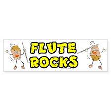 Flute Rocks Bumper Bumper Sticker