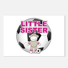Little Sister Soccer Postcards (Package of 8)