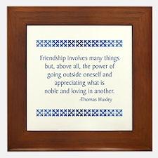 Huxley Framed Tile