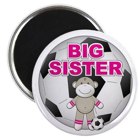 Big Sister Soccer Magnet