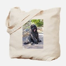 Cute Bouvier des flandres Tote Bag