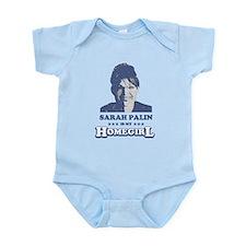SARAH PALIN IS MY HOMEGIRL Infant Bodysuit