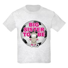 Big Sister To Be Soccer T-Shirt