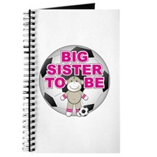 Big Sister To Be Soccer Journal