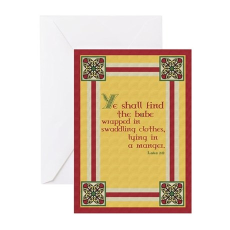 Religious Christmas Greeting Cards (Pk of 10)