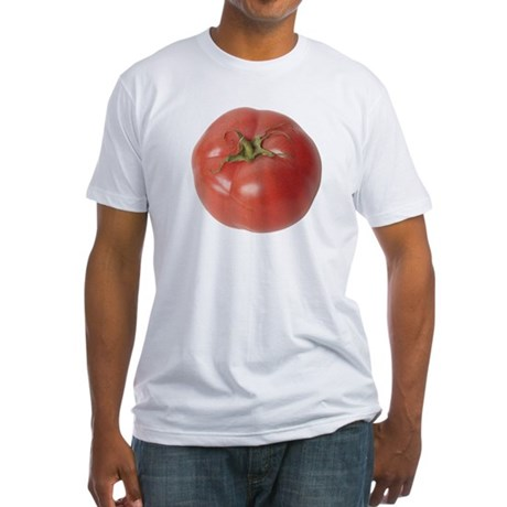 A Tomato On Your Fitted T-Shirt
