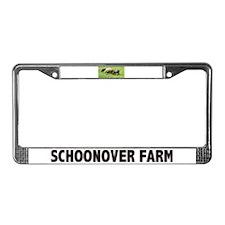 Schoonover Farm License Plate Frame