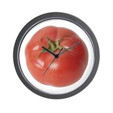 A Tomato On Your Wall Clock