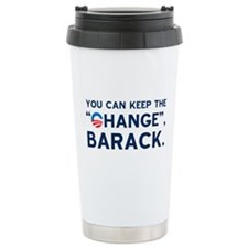 "Keep the ""CHANGE"", Obama! Travel Mug"