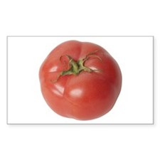 A Tomato On Your Rectangle Decal