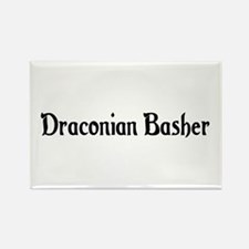 Draconian Basher Rectangle Magnet