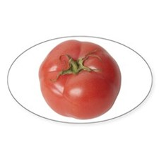 A Tomato On Your Oval Decal