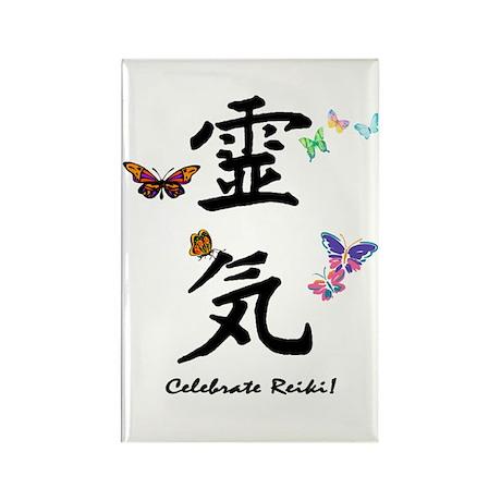 Celebrate Reiki! Rectangle Magnet