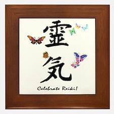 Celebrate Reiki! Framed Tile